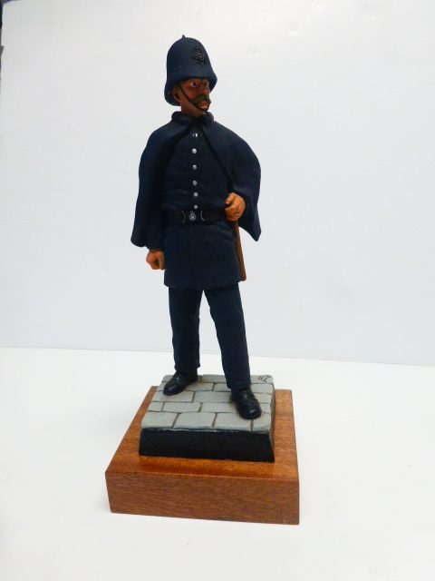 OLD TIME POLICEMAN PAINTED